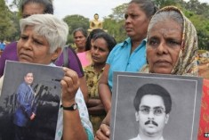 Sri Lanka 'disappeared': Families stage Colombo protest