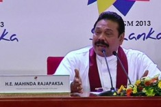 Chogm: Sri Lanka's Mahinda Rajapaksa hits out at critics