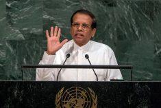 Sri Lanka has achieved tremendous progress in reconciliation, democracy, human rights &  rule of law, Sirisena tells UN