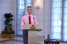 "Exemplary address by  Singaporean PM today: "" Now we are all enlisted to join  the front line to fight Covid 19. It will be a long fight"""