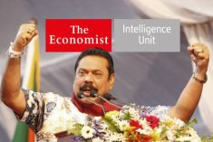 Latest EIU report forecasts Rajapaksa's Party will win Sri Lanka's upcoming elections