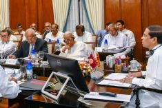 TNA raises  issues of political solution, land, colonization & other livelihood issues with Prez Sirisena