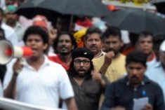 Thousands March in Colombo to Protest Illegal Rajapaksa 3rd Term