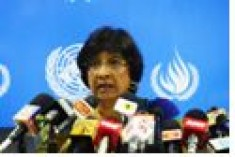 Navi Pillay has made the most meaningful statement ever made by the UN on the human rights situation