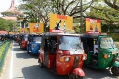 Sri Lanka taxi drivers support removal of top judge ( Rajapaksha Vs CJ = Taxi drivers Vs Judges, Lawyers,  Intellectuals & Religious leaders )