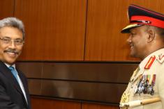 general Daya Ratnayake : Gota's Main Man..!