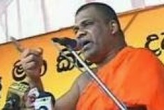 13 BBS goons arrested over anti-muslim violence in aluthgama released after Gnanasara Thero threatens self-immolation