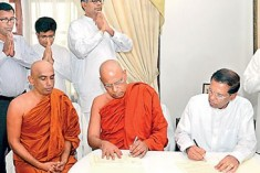 Text of the MoU Singed Between the  JHU &  Common Candidate Maithripala