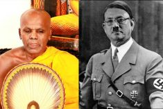Top monk asks Sri Lanka's ex-defence chief to return as 'Hitler'