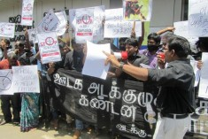 Jaffna: North and South Journalists  protest media suppression