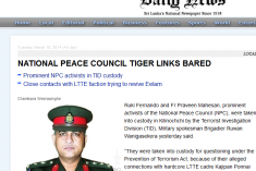 SL Minstry of Defence (MOD)  site has deleted libelous statement re Ruki Fernando and Fr. Praveen, posted this morning