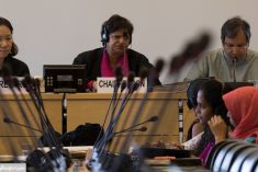 In the holy month of Ramadan attacks against Muslims in Sri Lanaka has increased-  Shreen Saroor at CESCR 61