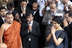 Sri Lankan Chief Justice becoming anti-government rally point