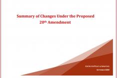 Sri Lanka: The Twentieth Amendment – Centre for Policy Alternatives