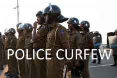 Sri Lanka HRC issues recommendations on regularizing the imposition of curfew