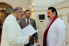 Taking oath before the President is a  message to Sinhala people – Chief Minister  Vigneswaran
