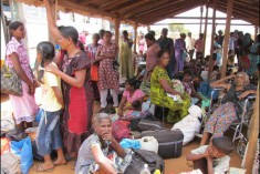 IDP camp dismantled, inmates appeal directly to International Community