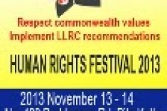 CHOGM 2013 / Sri Lanka: Commonwealth & human rights principles in Sri Lanka, in the weeks before CHOGM