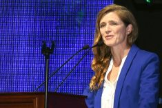 "Samantha Power on celebration of  Mangala Samaraweera: ""Nevertheless!"" and strive to build a better world."""
