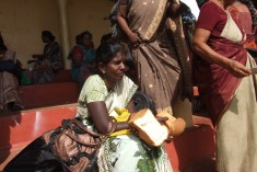 Read the Message of the Mothers: The 'Vavuniya  Blockade' by the Police in  photos