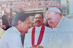 Sri Lanka Catholics, Election Monitors Condemn Use Of Pope's Image On Election Post