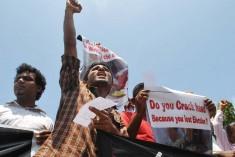 FMM protests assault on Uthayan news editor Gnanasundaram Kuhanathan