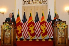 United States reminds Sri Lanka of UNHRC resolution and its commitments