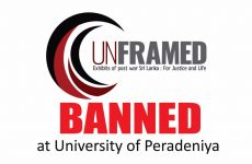 CPA Condemns Censorship of 'Unframed' at the University of Peradeniya