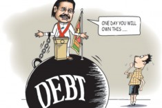 Can We Repay Our Large Foreign Debt? – Nimal Sanderathna