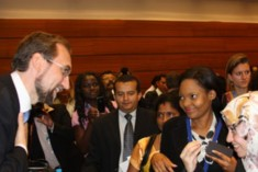 NGOs are Heart of Human Rights Work –  UN Rights Commissioner Zeid