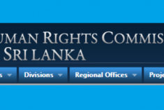 HRC-SL Advices Govt to Withdraw Proposed Amendment to the Penal Code on Hate Speech