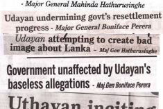 Appeal: Tamil News Paper Uthayan published in Jaffna is under threat