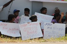 GoSL is violating the UN recognised IDPs right to return to their original lands by taking over 6381   acres in Jaffna