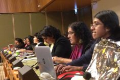CEDAW expresses concern on climate of insecurity, particularly for women in conflict affected zones.