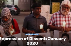 Repression of Dissent in Sri Lanka: January 2020