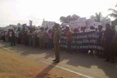Protesters against abductions denied access to Jaffna.