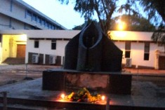 Ladies' hostel lights Common Flame, bells stun SL military in Jaffna on Heroes Day; military attacks house of Kaarainakar PS Head for observing Heroes Day