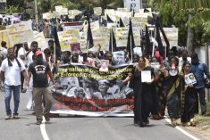 Tamil families of disappeared rally across North-East of Sri Lanka