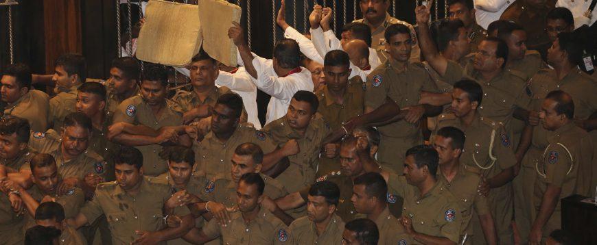 Sri Lanka PM Wickremesinghe mourns fate of democracy