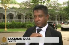 Sr lanka: Lawyers state that the [UNP controlled ]Daily News Report on Lakshan Dias issue is false