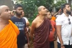 Minister  Mangala Samaraweera condemns the attack on Rohingya refugee in Colombo