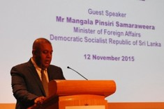 Mangala Samaraweera Sets Out Immediate Reform Agenda of the Government