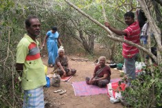 Refugees for 20 years, Tamil Catholic families forced to live in the jungle