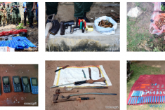 Sri Lanka: List of weapons and explosives found during search operations