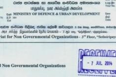 Sri Lanka bans NGOs engaging in public communications and conducting training