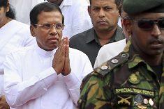 Sri Lankan leader will protect general accused of war crimes