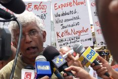 Sri Lanka: 5 Army men arrested over journalist Keith Noyar abduction in 2008 (Updated)