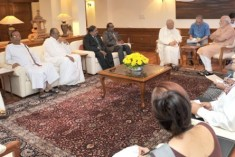 Rajapaksa angry at TNA India visit;  Swamy was  not in the loop