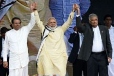Modi plays Buddhist card with aplomb to get Sri Lankans to agree to his economic agenda