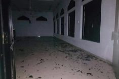 NEWS/SRI LANKA Mosque vandalized in Ampara, Sri Lanka
